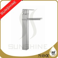 SSSFT850-350 Square Kitchen Faucet Stainless Steel Waterfall