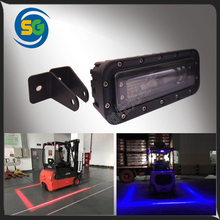 New product LED Red Zone Light LED Forklift Light Safety Warning No Go Line Light For Forklift