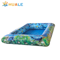 PVC tarpaulin square children inflatable pool for family use