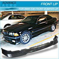 FOR BMW E36 1992-1998 3-SERIE PU FRONT BUMPER LIP SPOILER