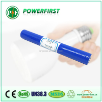 High Quality Strong Light Flashlight Rechargeable Battery / Cap Gun 18650 li-ion battery
