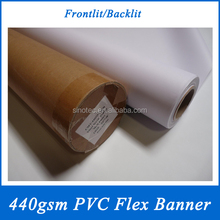 PVC flex banner from 20 years factory for flex banner printing machine
