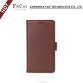 Eco-friendly PU leather material Credit Cards Flip Case for Sony Xperia X phone with stand feature