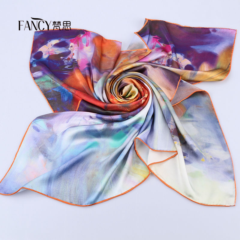 China Cheap Square Scarf Silk on Alibaba Top Manufacturer