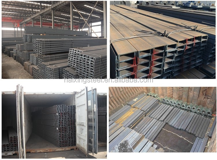 Steel U channel/ JIS standard U channel/U shape beam