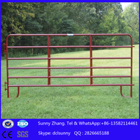 pvc coated horse corral panels used for sheep pen