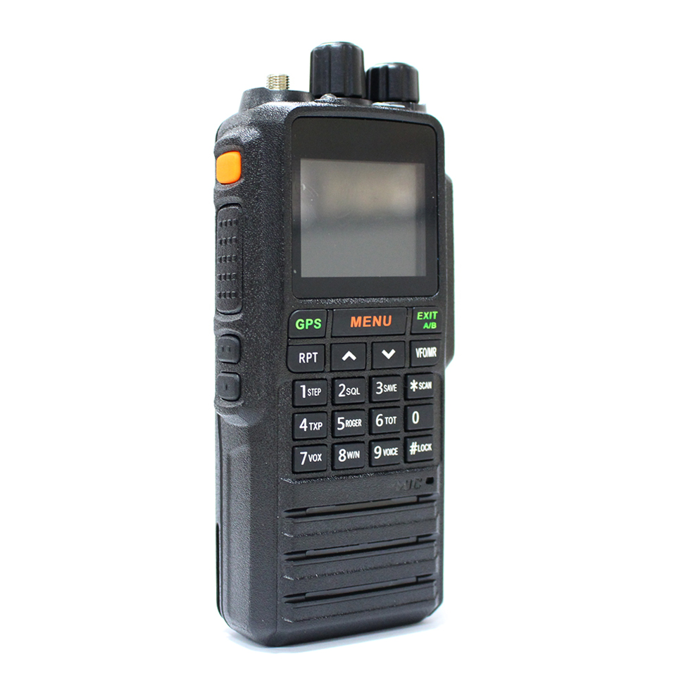 SYY869 UHF/VHF Portable GPS walkie talkie two-way radio long distance <strong>communication</strong>