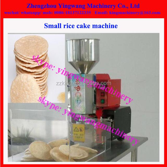 Nutritional rice cake korea snack magic pop crispy popped rice cake machine