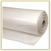 200um clear plastic builders film for concrete slab covering