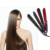 Top quality hair flat iron dry and wet tourmaline plates vapour iron automatic LED display hair straightener