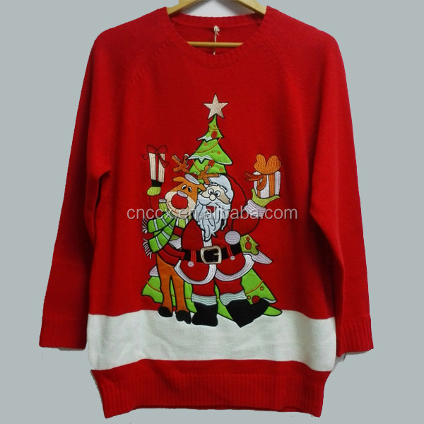 17STC8001 Unisex China Christmas Sweater