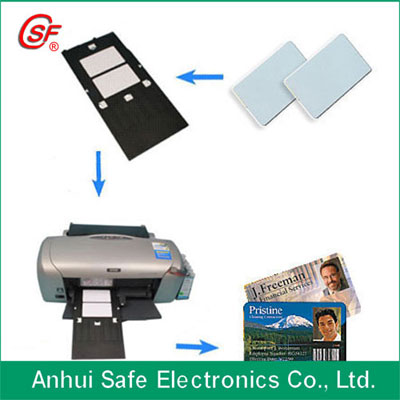 High quality inkjet printable pvc card for Epson or Canon printer directly