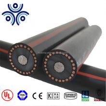 UL Certified MV-90 URD single core xlpe insulated AL/CU conductor 100% copper wire screened power cable made in China