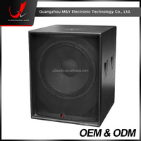 F118B-18 Inch Powered Subwoofer Speaker/Active Full Range Bass Speaker