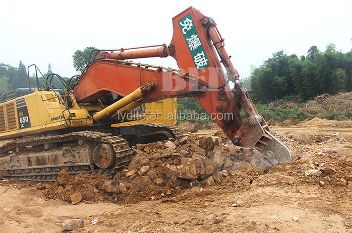 Construction Machinery parts soil ripper from beiyi for excavator to loosen soil
