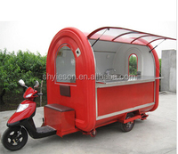 factory price bike trailer electrical mobile food cart/food kiosk/mobile van YS-ET230