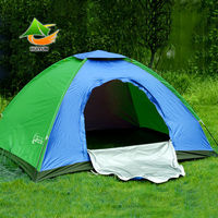 Single Tier Tents Ultralight Camping Family Tent with Rainfly