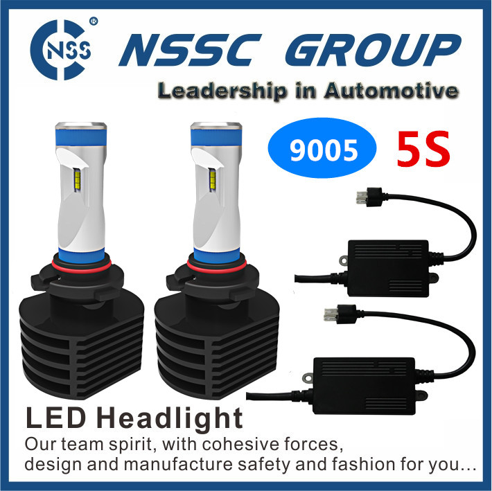 philip LED led car bulb fanless h11 led headlight for Navara,Hilux,Toyota camry Headlight