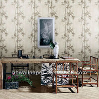 wallpaper with a pattern of bamboo design wallpaper