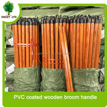 Manufacturer wholesales wooden broom pole / straight eucalyptus wood mop handle