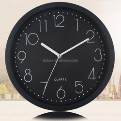 Decorate Plastic table clock for hotel