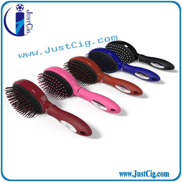 Plastic nylon pin easy wash hair brush paddle hair brush ionic hair comb