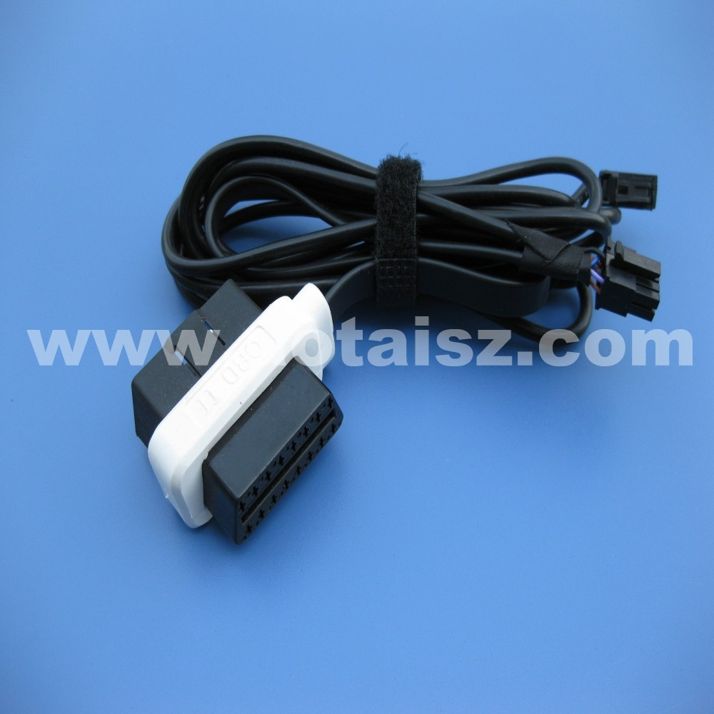Auto diagnostic tools OBD M/F to Molex Connector Cable