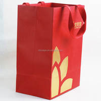 New products special plain brown kraft paper shopping bag