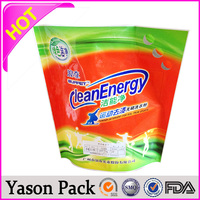 YASON drinking water packaging plastic pouch high quality autopaintable masking plastic film plastic airsickness bag