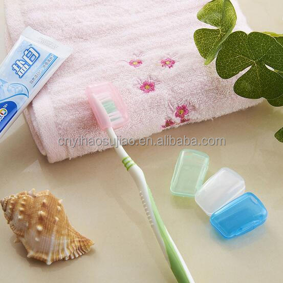 China cheap colorful plastic travel toothbrush head cover