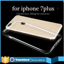 2016 trending products ultra slim transperant crystal clear tpu phone case for iphone 7