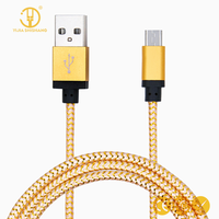 Reversible Micro USB Cable Fast Charging Data Sync Cables Cords Android Mobile Phone Cable for Xiaomi, S4 S6,LG,for Sony,HTC