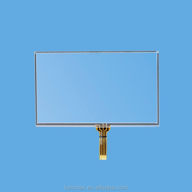 "4.3"" Resistive Touch Panel (Panel size: 102(W)*62.5(H) mm)"