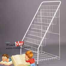 Magazine display photo album stand customized folding display stand