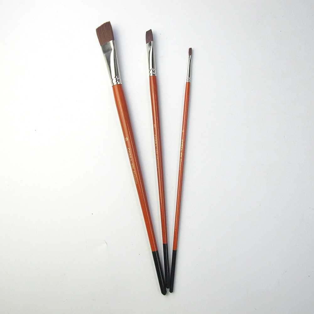 Lary 2016 hot sale professional artists painting brushes in set