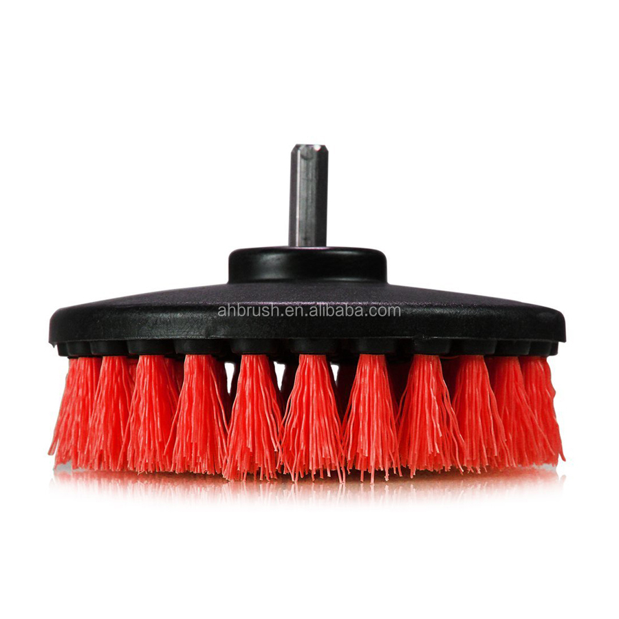 electric rotating drill carpet cleaning brush brush with durable nylon bristles buy drill. Black Bedroom Furniture Sets. Home Design Ideas