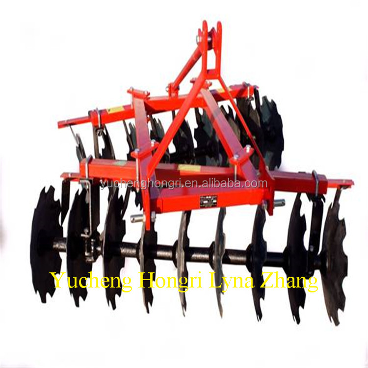 Tractor trailed heavy duty offset disc harrow for sale