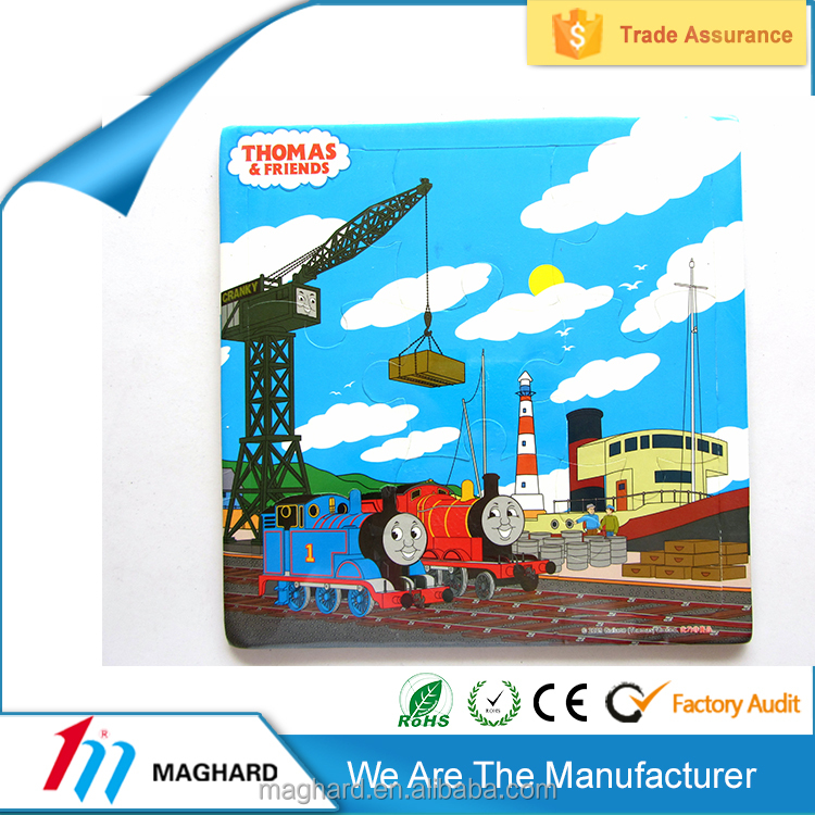 Wholesale China Market magnetic wooden puzzles for kids