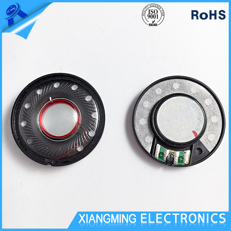 DongGuan Speaker Driver Factory Custom 40MM Headphone Parts Speaker