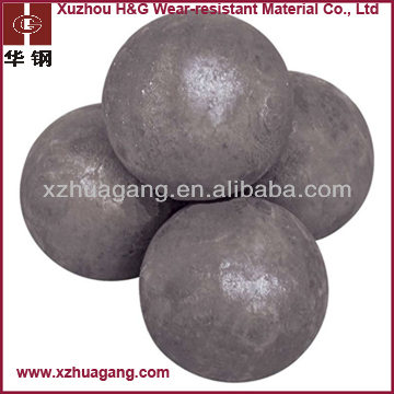 chrome alloyed low price chrome steel ball casting for grinding