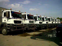 "Road transportation lorry from Java to Sumatera ""Indonesia"""