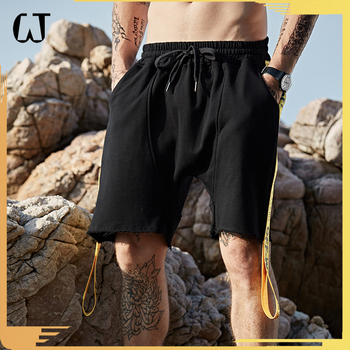 D201#2017 New Arrivals Hot-sale Fashion No-pattern Fancy Lace Sport Jogger Men Sweat Short Pants