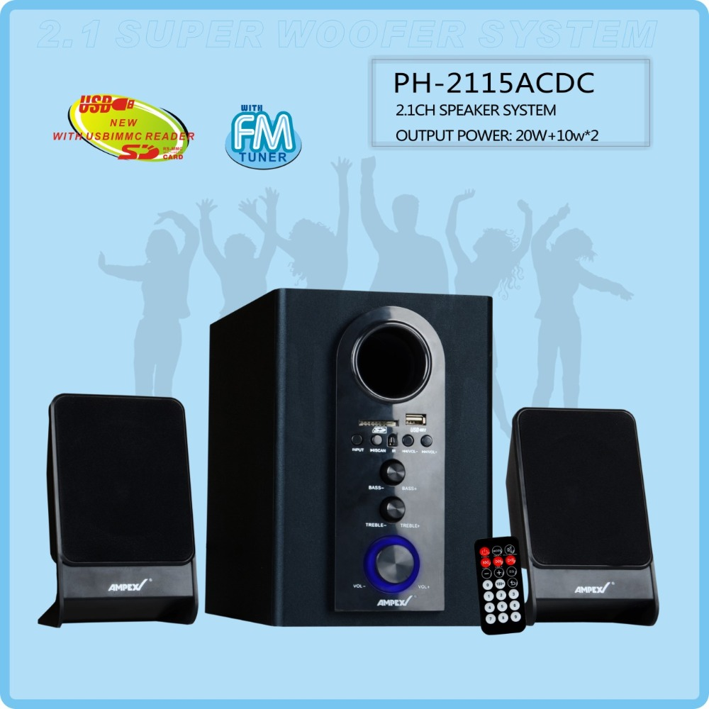 3 (2.1) Channels Most Popular Home Use 2.1 Multimedia Speaker
