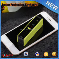 Wholesale build in battey usb cable Laser virtual mini bluetooth 4.0 keyboard for android