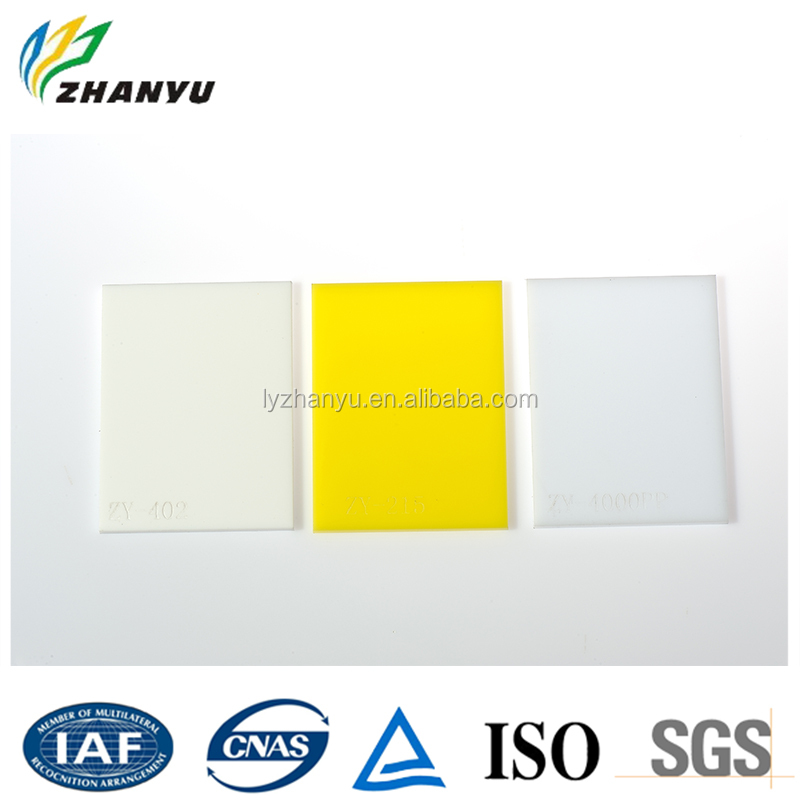 Light Weight Good Quality Cast Acrylic Colored Board Plexiglass