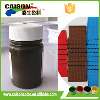 Custom made Brown Liquid pigments for Textile printing
