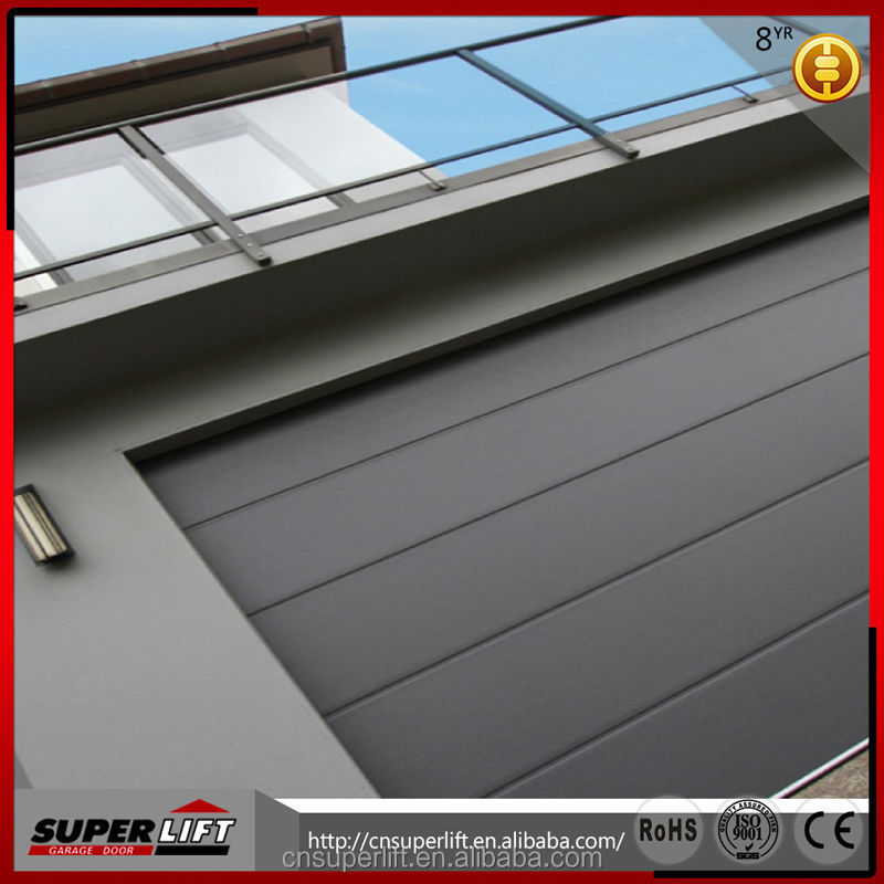 8 panel automatic folding steel garage entry <strong>doors</strong> made in China