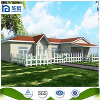 2015 Modern fast install economic steel villa design a house 90 meters