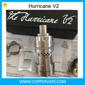 Diameter 22.5mm hurricane 2.0 e phoenix firebird rta Top quality cheap hurricane v2 clone New