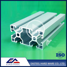 Factory direct sale high quality 6063-T5 alloy t slot aluminium extrusion